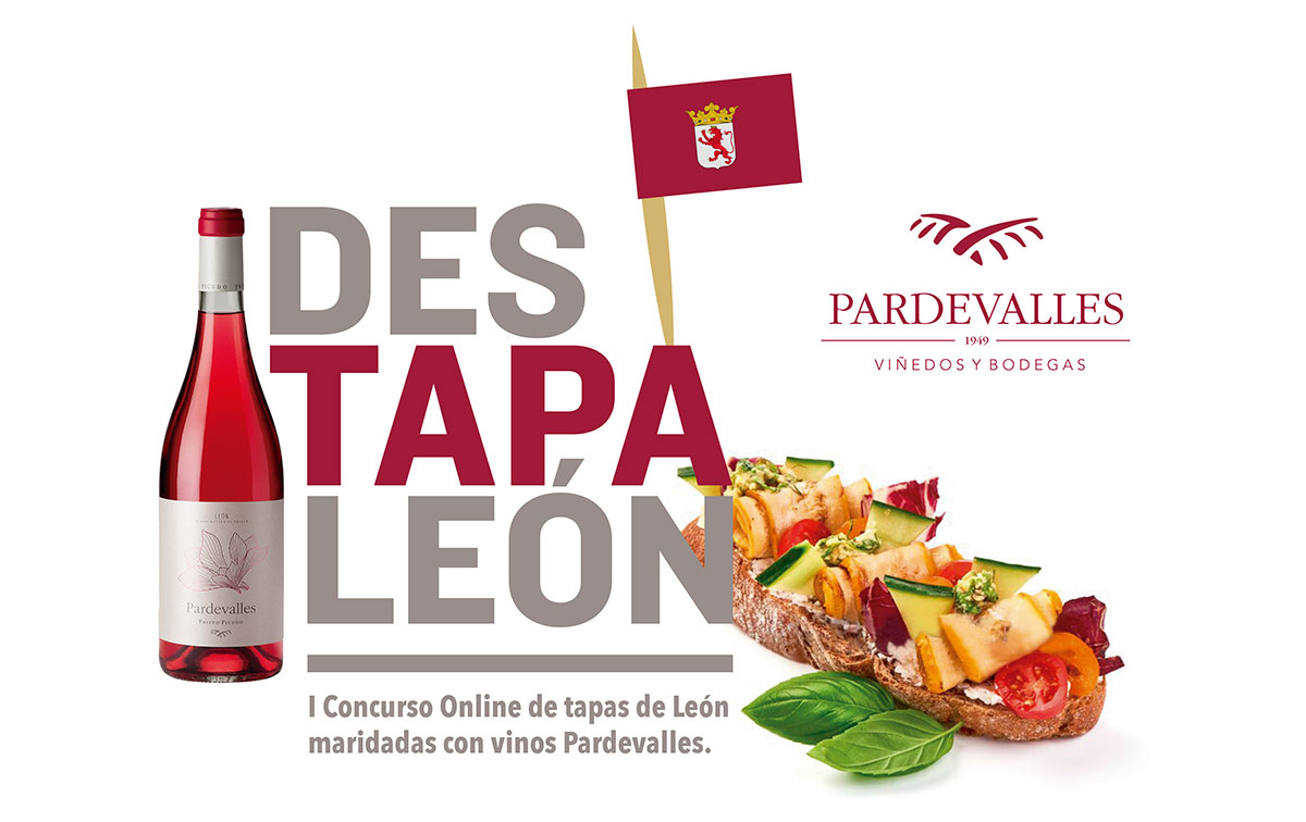 I Online Contest of León tapas paired with Pardevalles wines